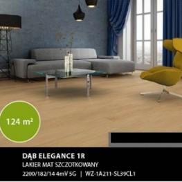 Dąb Elegance 1R 4mV 5G lakier mat